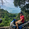 Overlooking the back side of Penang Island - Andaman Sea