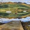 'Slipway' <br /> 07 October 2012<br /> - Ben Arthur (the cobbler) as viewed accross Loch Long.<br /> Ardmay, Argyll, Scotland