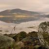 'Loch Fyne' - looking across a calm Loch Fyne towards Inveraray. Argyll, Scotland