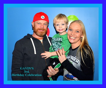 Gavin's 3rd. Birthday Celebration 11-27-2015