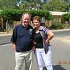 Glen and Barbara our coach tour hostess