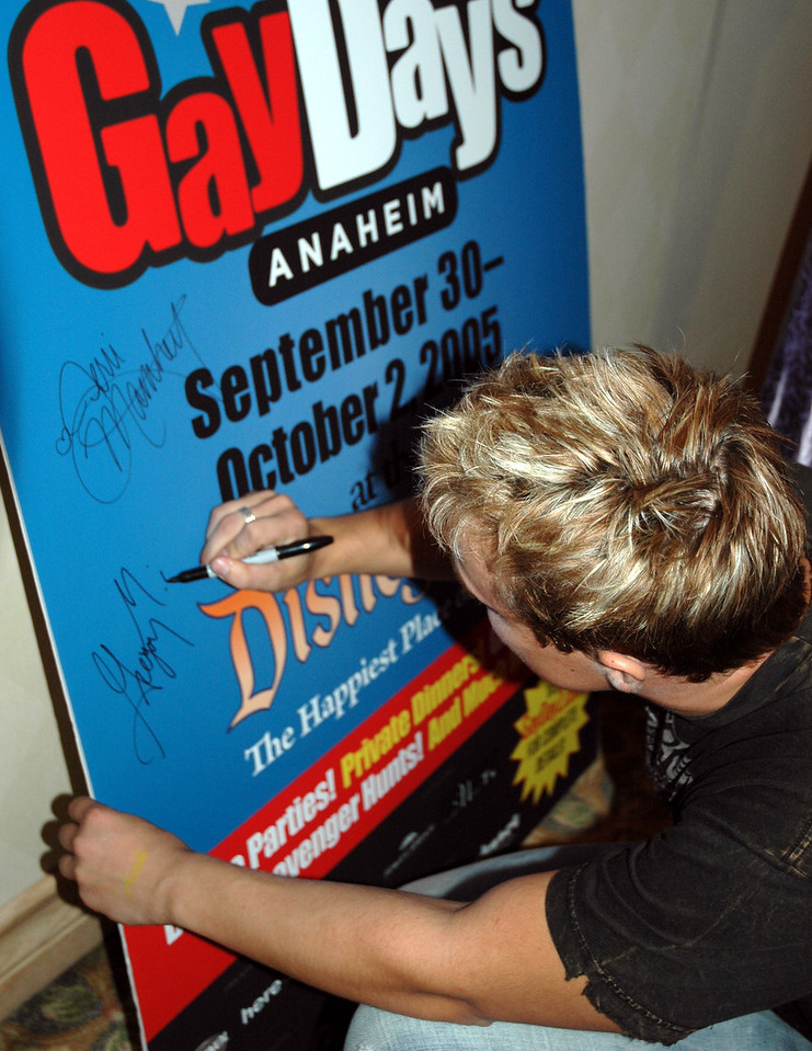 Gay Days Anaheim   VIP Reception   30 Sept 2005