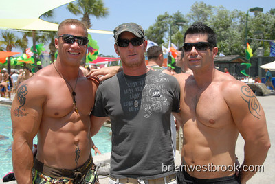 """""""Reunion Pool Party"""" Sunday June 3, 2007 at the Buena Vista Palace host hotel with DJ Kimberly S. Part of the annual Gay Days festivities in Orlando, Florida.(Photo by Brian M. Westbrook / brianwestbrook.com)"""