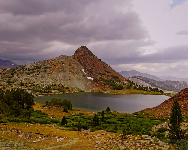 Gaylor Peak and Upper Gaylor Lake