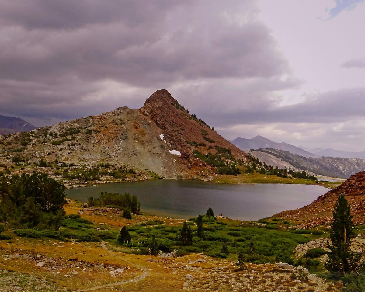 Gaylor Peak and Upper Gaylor Lake