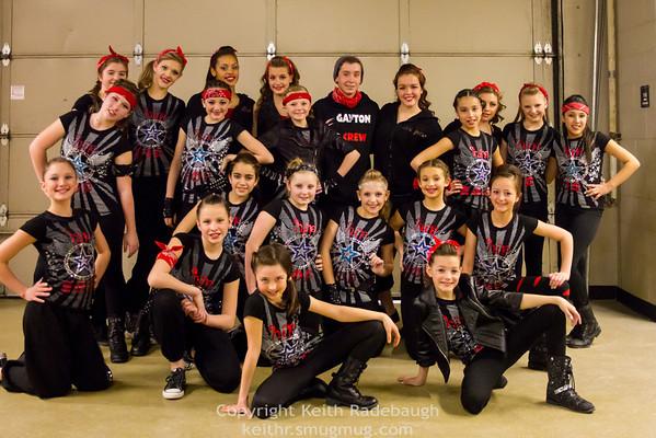 Gayton Dance at CU Buffs 2014