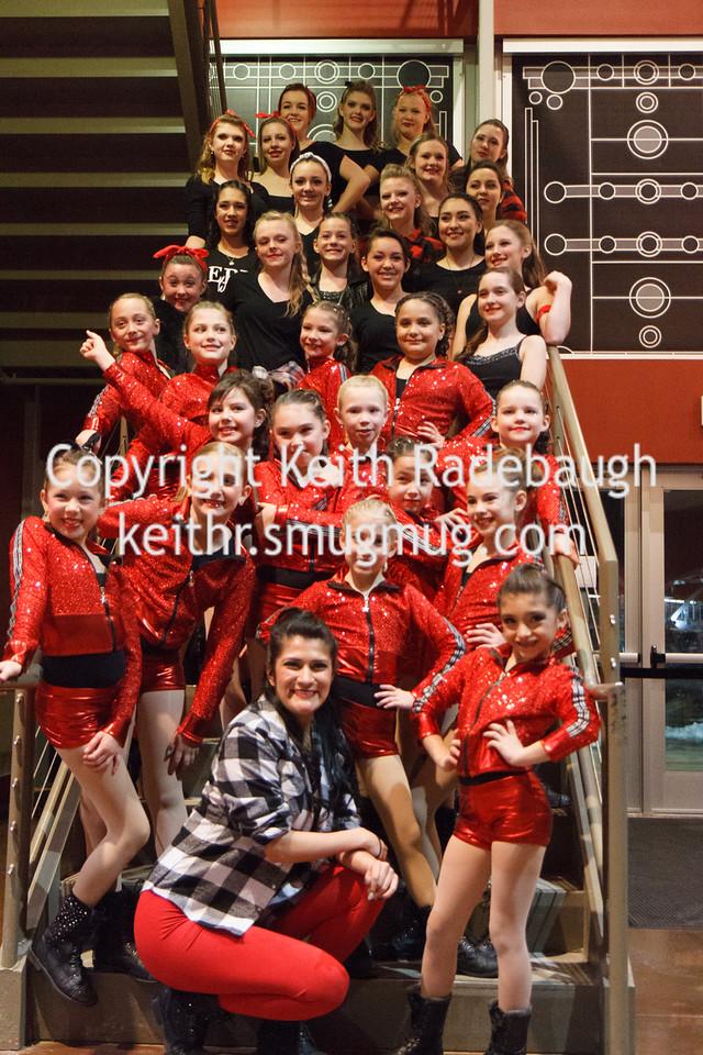 Globetrotters Halftime 2015 - Gayton Dance