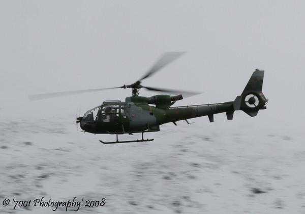 XZ314/'A' (Army) Gazelle AH.1 - 27th March 2008.