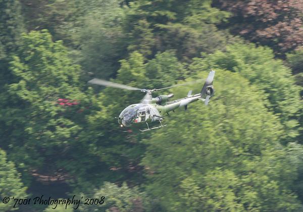 ZB689 (Army) Gazelle AH.1 - 20th May 2008.
