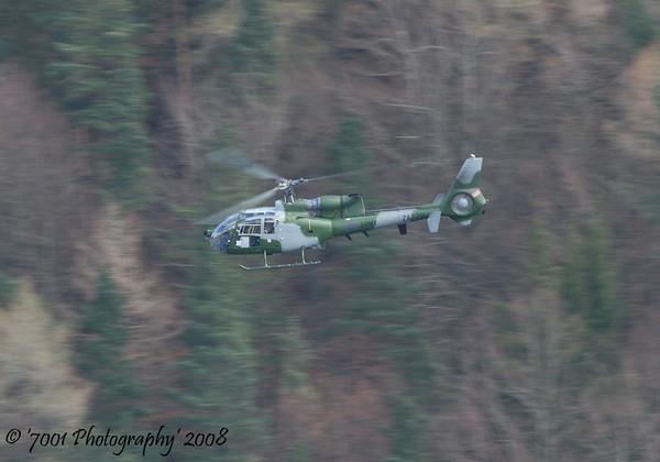 ZA772 (Army) Gazelle AH.1 - 31st March 2008.