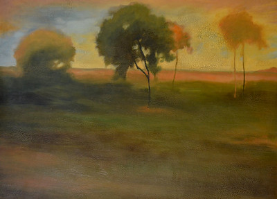 Quiet Meadow-Jardine, 36x48 painting on canvas JPG