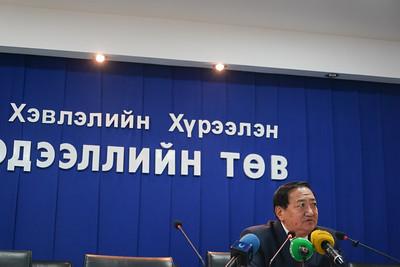 2021 оны есдүгээр сарын 22. Монголын ахмадуудын холбооны ерөнхийлөгч Ц.Сүхбаатар ахмадуудын тэтгэврийн зөрүүг арилгах талаар мэдээлэл хийлээ. ГЭРЭЛ ЗУРГИЙГ И.НОМИН/MPA