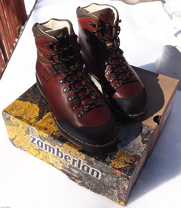 Zamberlan Tofane Boots – A work of art