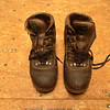 Limmer lightweight boots, purchased in 2000 and lasted about a year before having to be sent off to Limmers because the welt thread disintegrated causing both soles to detach.