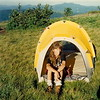 In '89 I got this North Face hoop tent called the Westwind and it's being used on Roan Mt with Lindal Newbius.