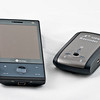 iBlue 747A  GPS Recorder connected to HTC Diamond via bluetooth