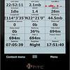 iBlue 747A  GPS Recorder feeding gpsVP on HTC diamond
