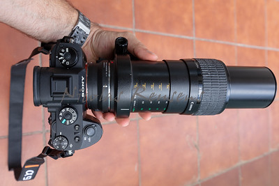 Sona A9 with Canon Mpe65