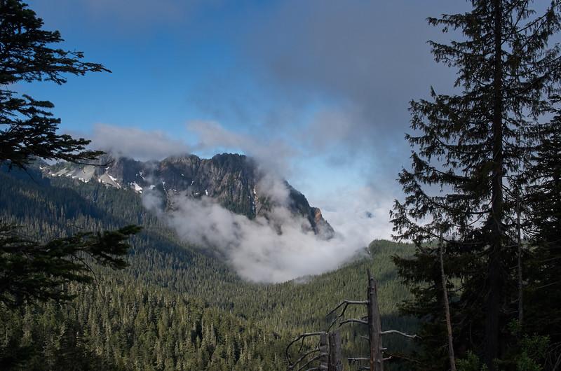 Clouds on Eagle Peak
