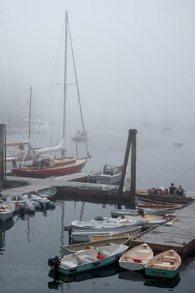 Morning Mist on the Dock