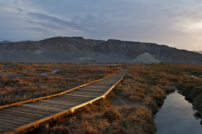 Board walk at Salt Creek