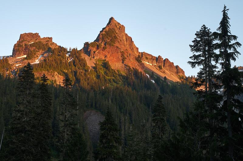 The Castle and Pinnacle Peak