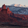 Fisher Towers, evening light