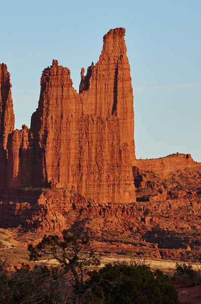 Fisher Towers, late afternoon