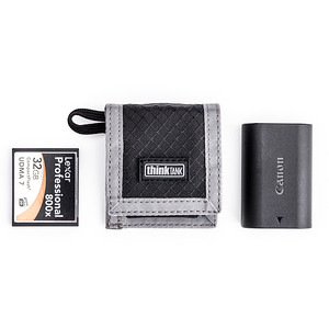 Battery and Compact Flash Wallet
