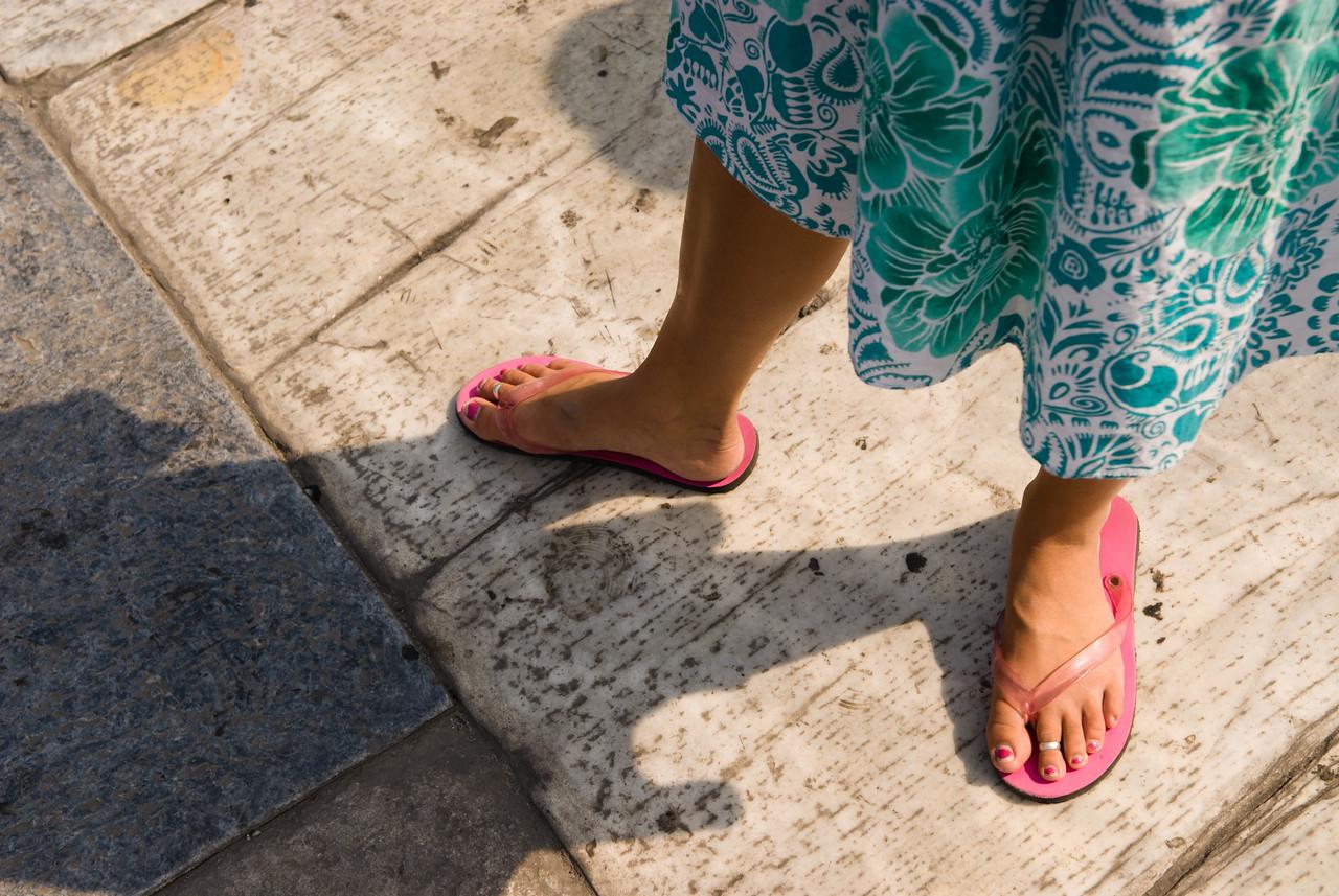 Josephine's feet