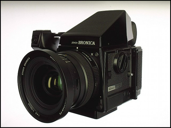 Bronica GS-1 With AE FInder Medium format