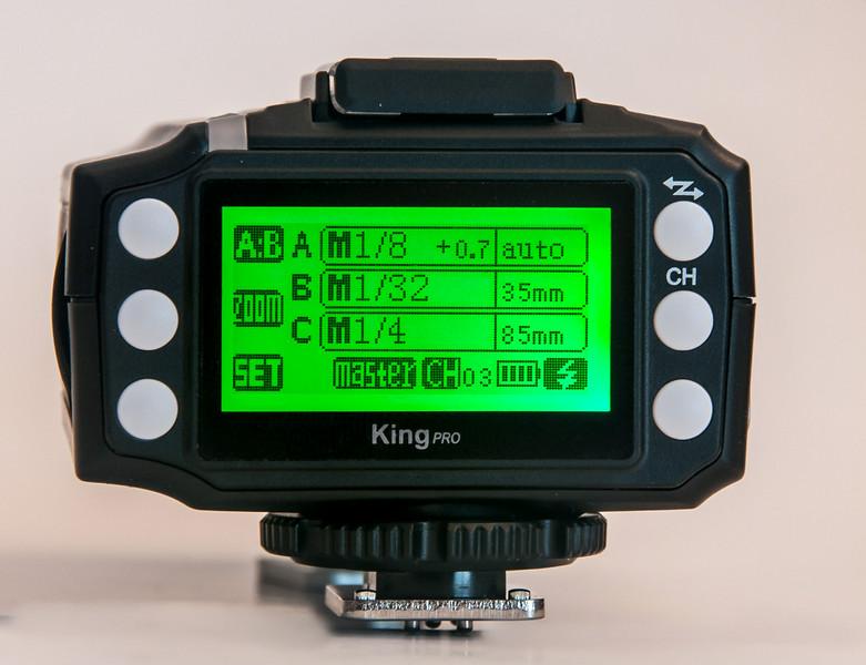 Pixel King Pro LCD Display