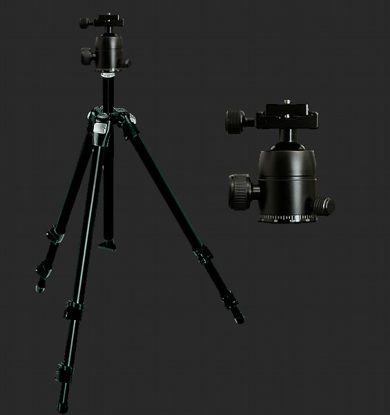 Manfrotto Aluminum Tripod and Ballhead