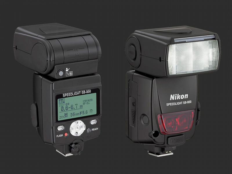 Nikon SB-800 Speedlight Flash