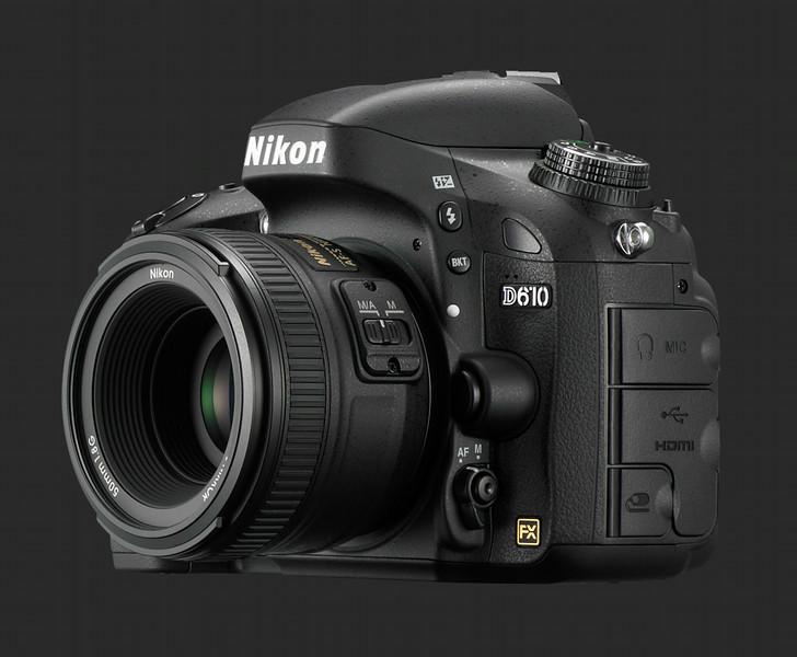 Nikon D610 24 MP FX camera