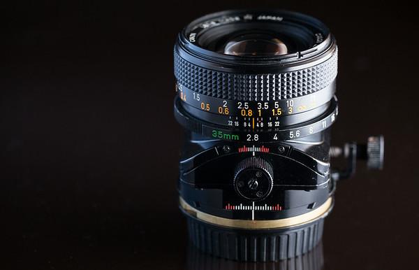 Canon FD 35mm TS f/2.8 S.S.C.