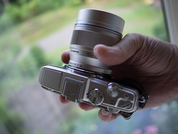 Olympus 75mm f/1.8
