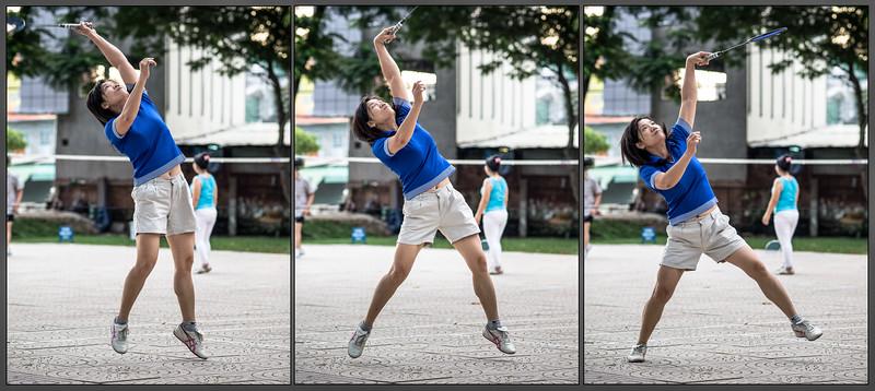 Badminton style