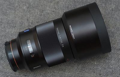 My precious......pure lens porn......even the lens hood costs £129 !!!