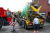 Steendorp - Ongeval met betonmixer in de Muntstraat