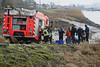Steendorp - Berging van gestolen wagen uit de Schelde
