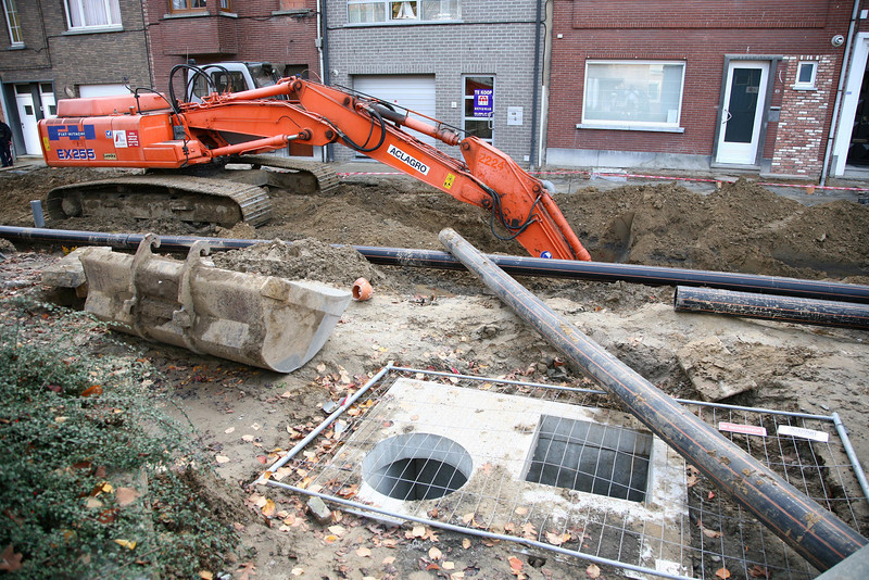 18/10/2007 - Gelaagstraat - Dorpsplein