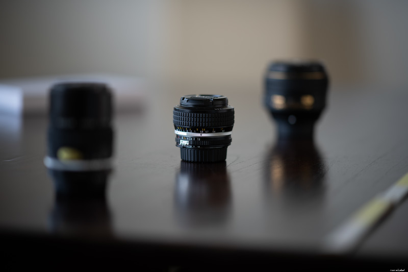 Bokeh 105mm f/1.4 @f/1.4