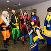 Sabretooth, Rogue, Phoenix, Gambit, Wolverine, and Cyclops