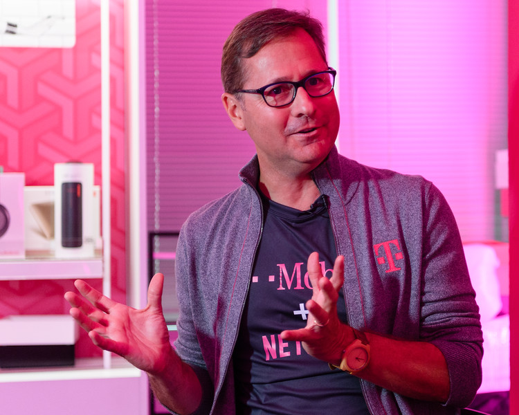 T-Mobile COO Mike Sievert announces Netflix partnership