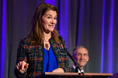 UW Gates Center ceremony - Melinda Gates