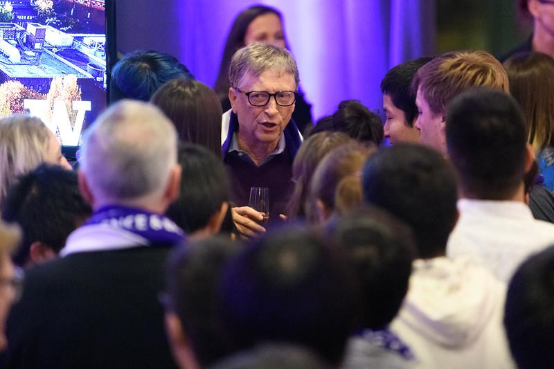 UW Gates Center ceremony - Bill Gates