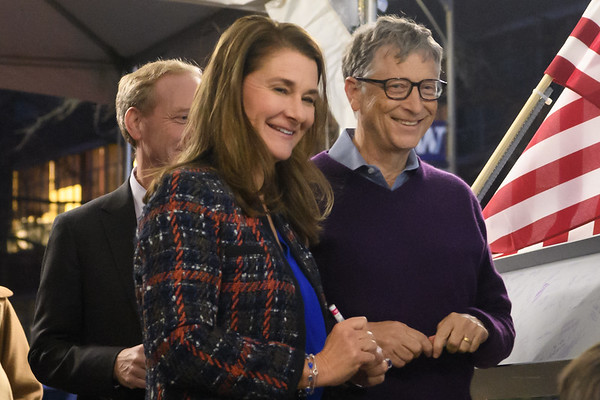 UW Gates Center ceremony - Bill & Melinda Gates