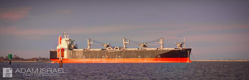 Sunny Ship -- Corio Bay, Geelong