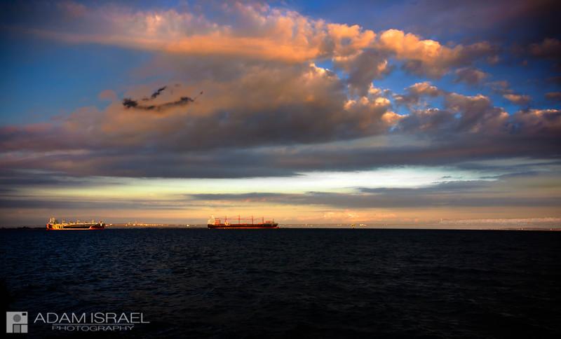 Cloudy Corio Bay -- Corio Bay, Geelong